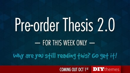 Thesis 2.0 Pre-Order Discount on AppSumo