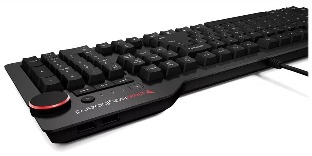 Das Keyboard 4: Multimedia Controls and USB Ports