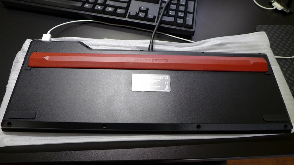 Das Keyboard 4 ruler footbed