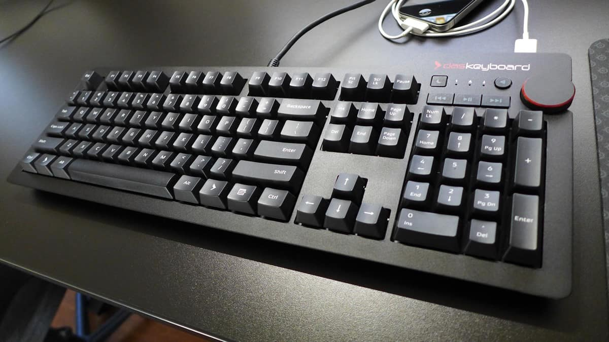 Das Keyboard 4 with brown switches