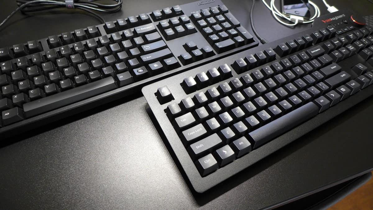 Filco Majestouch 2 vs Das Keyboard 4: Keyboard Close Up