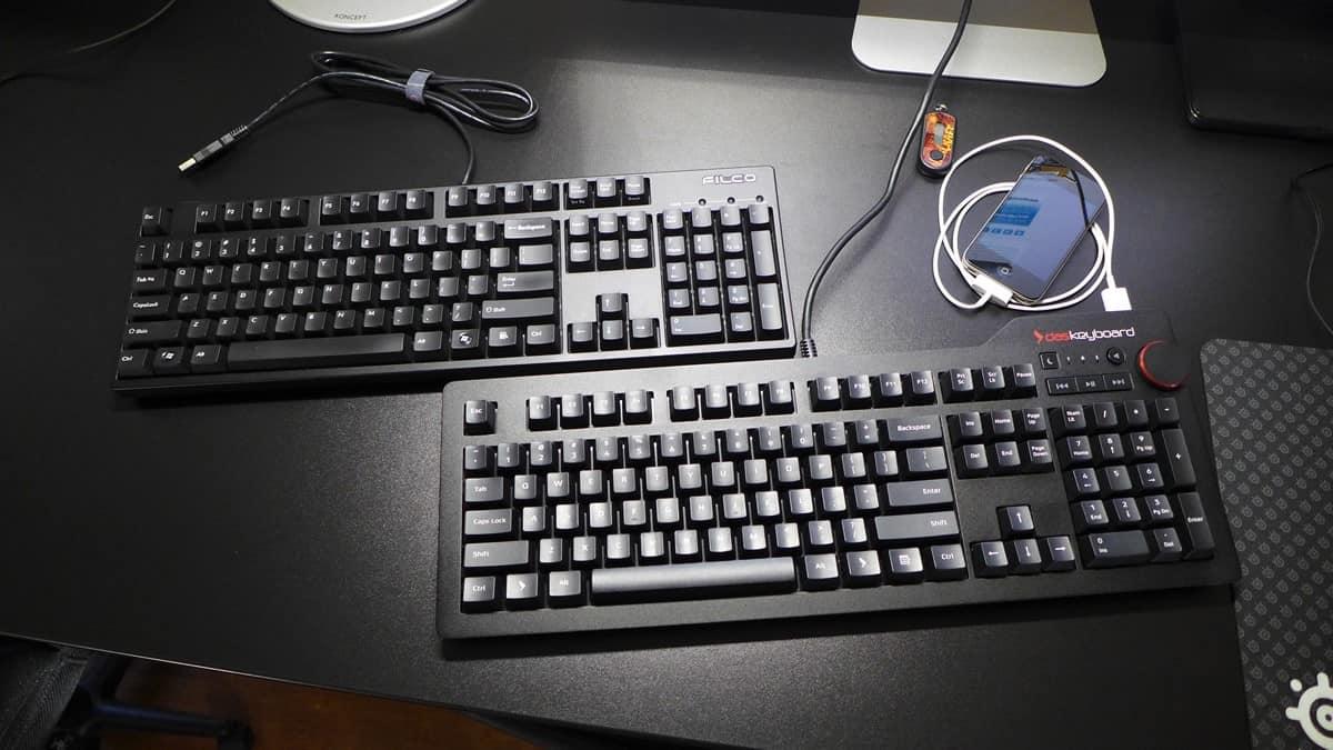 Filco Majestouch 2 vs Das Keyboard 4