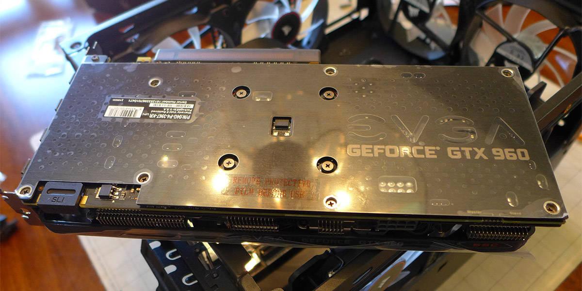 EVGA GTX 960 SSC 4GB