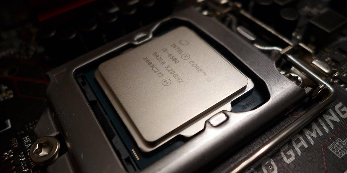 Intel i5 Skylake CPU